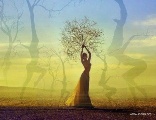 樹精.魔杖.地球能量線